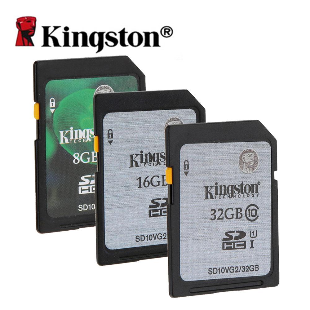 kingston digital sd memory card 8gb 16gb 32gb sd card sdhc. Black Bedroom Furniture Sets. Home Design Ideas