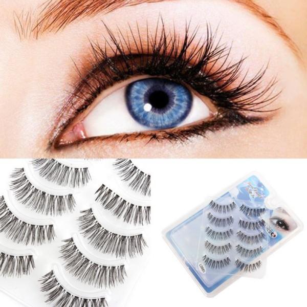 Wholesale Best Handmade Natural False Eyelashes Makeup Long Wispy