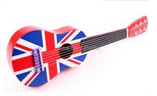 Free Shipping England Style Mini Guitar Ukelele Ukulele Children's Gift Musical Toys Musical Instrument Education Toys Guitar 01(China (Mainland))