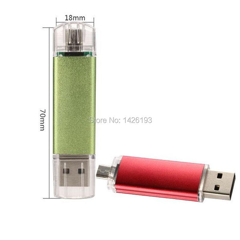 Hotsale OTG External Storage USB Flash Drive Pen Drive 4gb 8gb 16gb 32gb 64gb Memory Stick