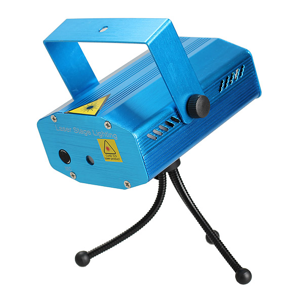 Blue Mini Strobe Laser Stage Effect Auto Mode DJ Party Music Active Light 88 CLH(China (Mainland))