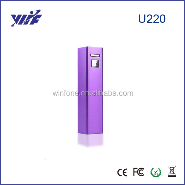 Portable USB Gift Packs 2600mah Accumulator Battery Pack External Charger For Mobile Phone(China (Mainland))