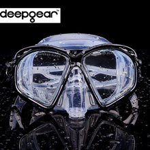 Supper Clear silicone scuba diving mask Top prescription nearsighted optical diving mask Adult snorkel gears diving equipment (China (Mainland))