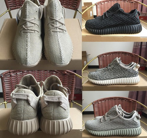 Free Shipping 2016 The Newest Top Quality yeezied 350 Men and Women black gray US 5-12.5<br><br>Aliexpress
