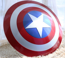 The Avengers Civil War Captain America Shield 1:1 1/1 Cosplay captain america Steve Rogers ABS model adult shield replica(China (Mainland))