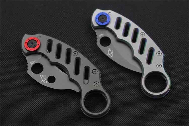 Buy Hot Karambit Claw Knife Mantis Folding 5cr13 Blade Knife Pocket Hunting Knife Survival Tactical Knives Camping Outdoor Tools cheap