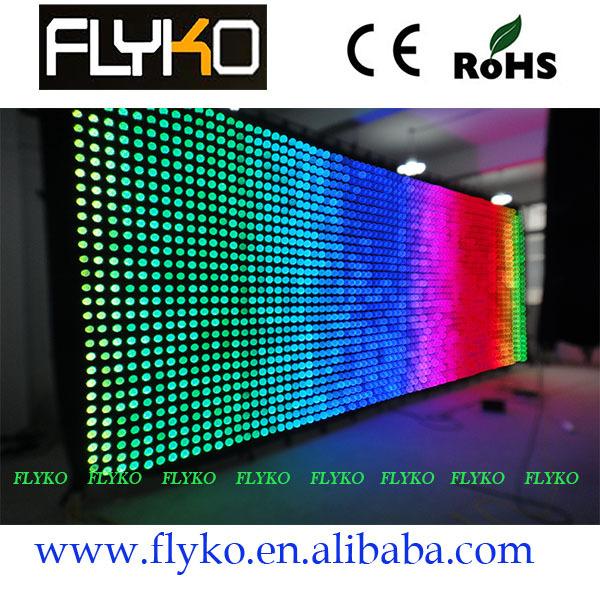 Led Screen Pattern Led Video Curtain Pattern