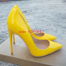 สุภาพสตรีออกแบบรองเท้าผู้หญิง So Nice Kate 12 ซม./10 ซม./8 ซม.สิทธิบัตรหนังสีฟ้า Stiletto รองเท้าส้นสูงแฟชั่นร...(China)