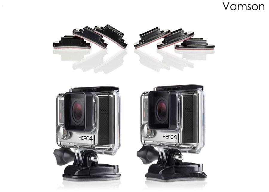 Gopro Accessories set gopro accessories mounts gopro hero 5 hero 4 hero3 kit for Xiaomi yi Camera sjcam sj4000 accessories VS86