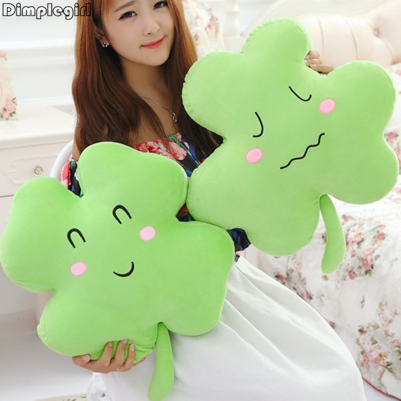 1 PCS,35CM,Novelty Cute Smile Face Plush Soft Toy,Green Pillow Cushion For Wedding Girlfriend Happy Birthday Gift Idea/Christmas(China (Mainland))
