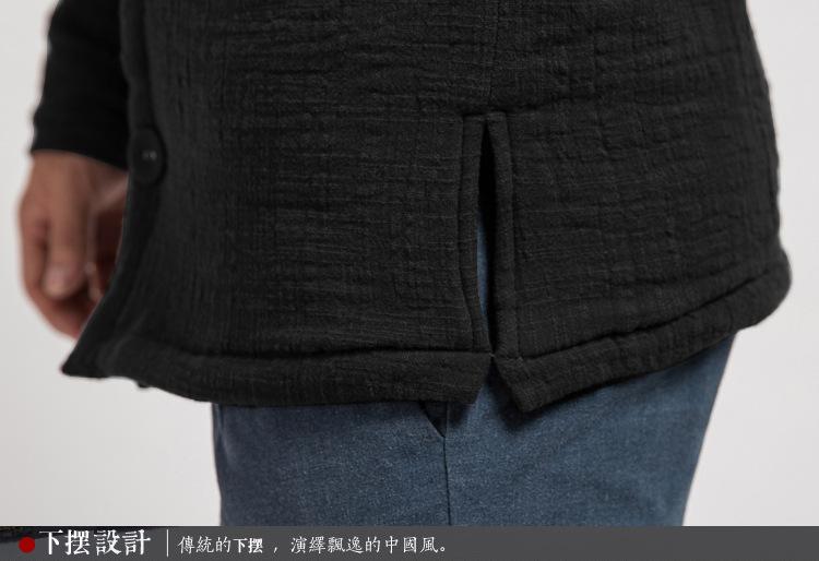 Скидки на Мужчины новый осень зима куртки хлопка проложенный белье случайные куртки мужские ветровки пальто высокого качества бренд мужской сгущает пиджаки М-3XL