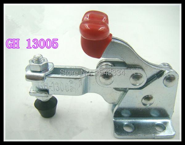 Free shipping Vertical Toggle Clamp 13005 Holding Capacity 68kgs Flange Base(China (Mainland))