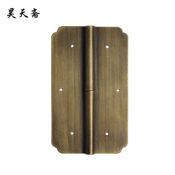 [Haotian vegetarian] bookcase antique kitchen next door hinge cabinet door hinge hinge HTF-123(China (Mainland))