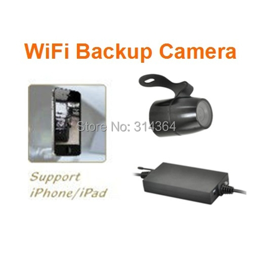 HOT Waterproof Backup Night Vision Wireless Car Camera Support Wired Connection/WiFi and iPhone/Android Free Shipping(China (Mainland))