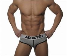 New Cotton Men's Briefs Fashion Sexy Patchwork Men's Underwear High Quality Men's Brief C-683 On Sale Dropshopping(China (Mainland))