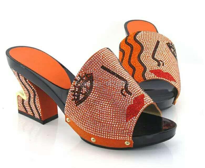ORANGE New arrival fashion nice matching shoes(China (Mainland))