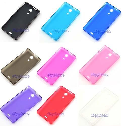Гаджет  Free Shipping TPU Silicone Gel Case Cover For Sony Xperia ZR C5502 C5503 M36h None Телефоны и Телекоммуникации