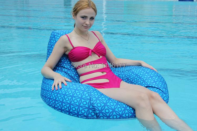 Ywxuge  Bean Bag Float Chair, Outdoor Round Beanbag Seat Furniture , Large Cuddle Bean Cushion Set
