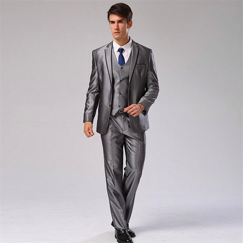 popular black suit jacket with grey pantsbuy cheap black