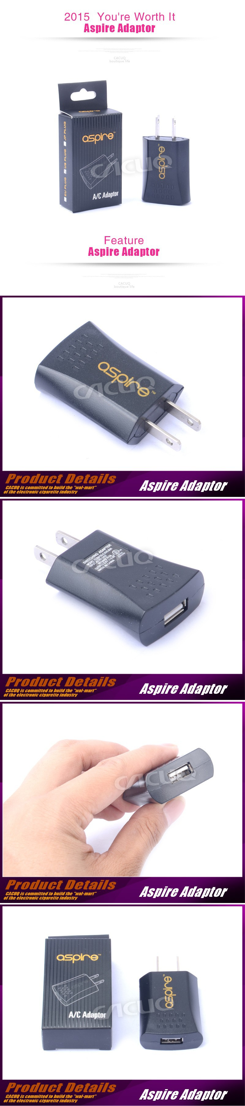 Aspire /Aspire Aspire Adapter