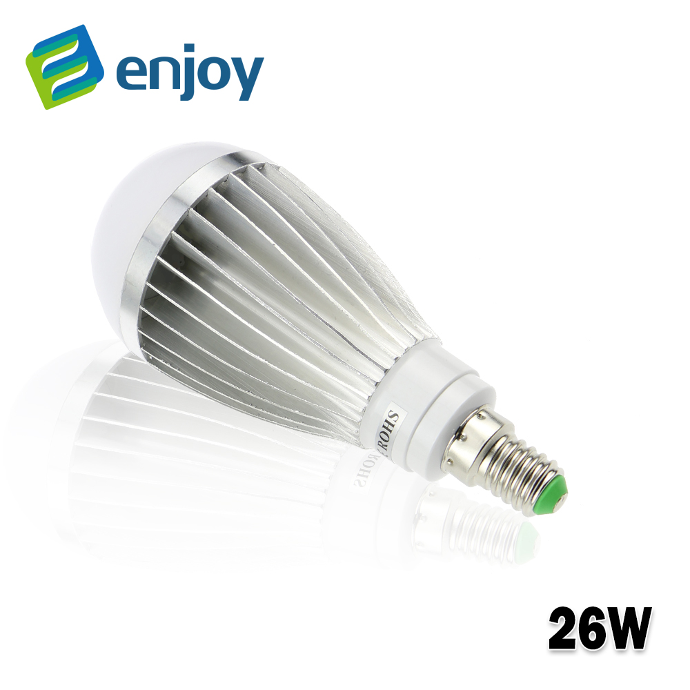 E14 LED LAMP 220V 230V 240V Metal led bulb  8W 15W 20W 26W  LED light Free Shipping<br><br>Aliexpress