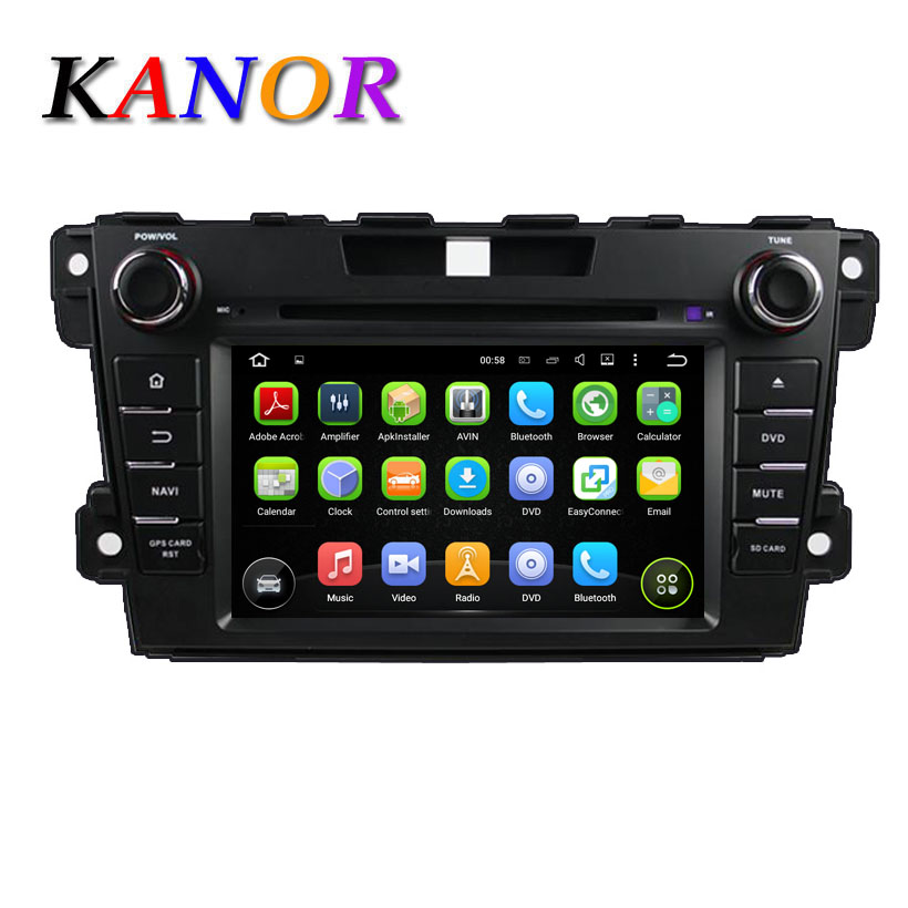 Mazda CX-7 CX 7 Car Audio Quad-core Android 5.11 Automotive GPS Navigation System with 1024*600 DVD Cassette Player Bluetooth SD(China (Mainland))