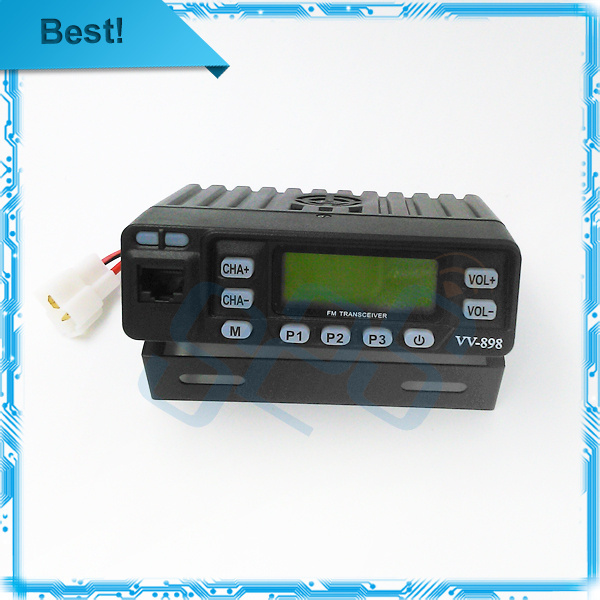 Original VV-898 Dual Band walkie talkie Car Mobile Radio Transceiver 136~174MHz&400~470MHz for Car Truck Taxi with data cable(China (Mainland))