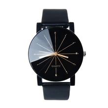 Relojes Hombre 2016 hombres de cuarzo Relogio Masculinos Dial cristal hora hombres reloj de cuero del negocio de pulsera caja redonda reloj hora(China (Mainland))