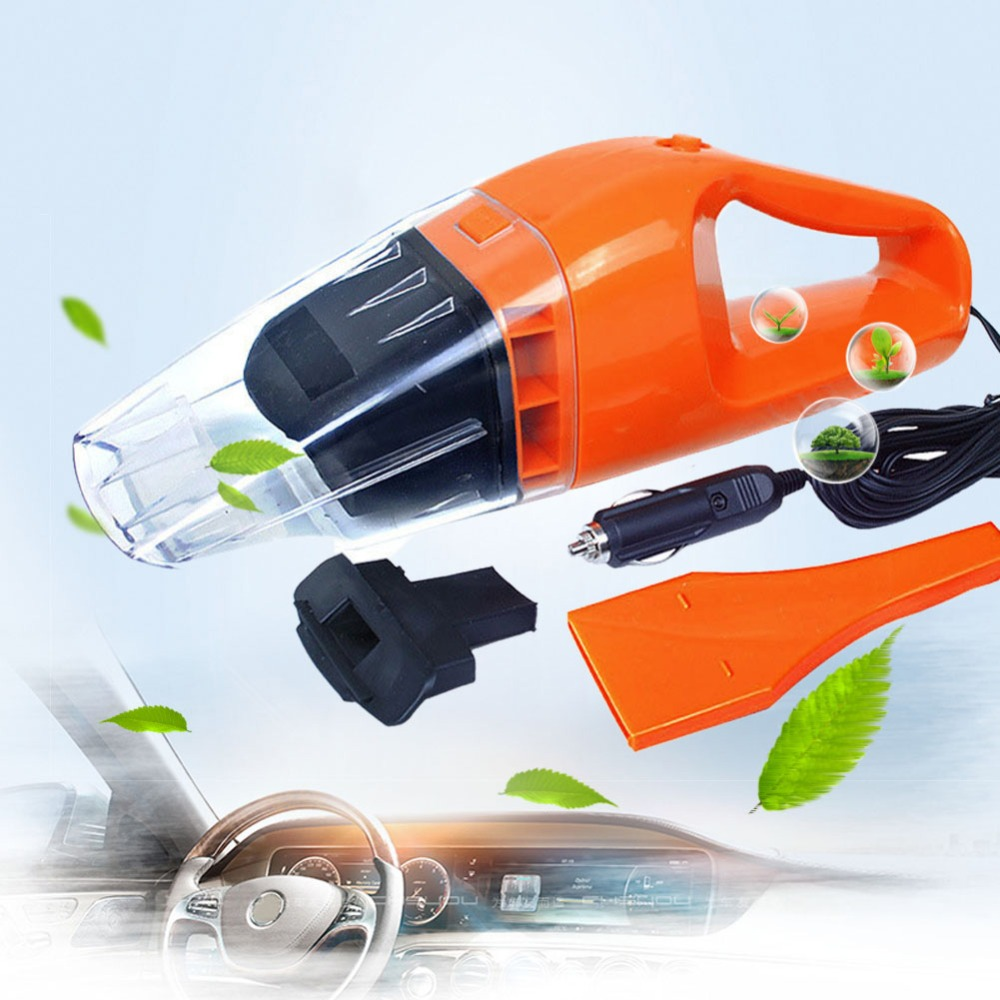 Portable Car Vacuum Cleaner 12V 100W Handheld Wet And Dry Aspirador Dual-use Super Suction Dust Cleaner Catcher Collector(China (Mainland))