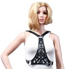 HARNESS new fashion sexy BELTS from shoudler to waist around neck luxury bondage punk street women belts 2016 new(China (Mainland))