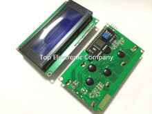 Free shipping !  LCD module Blue screen IIC/I2C 2004  5V 20X4 LCD board provides library files for arduino(China (Mainland))