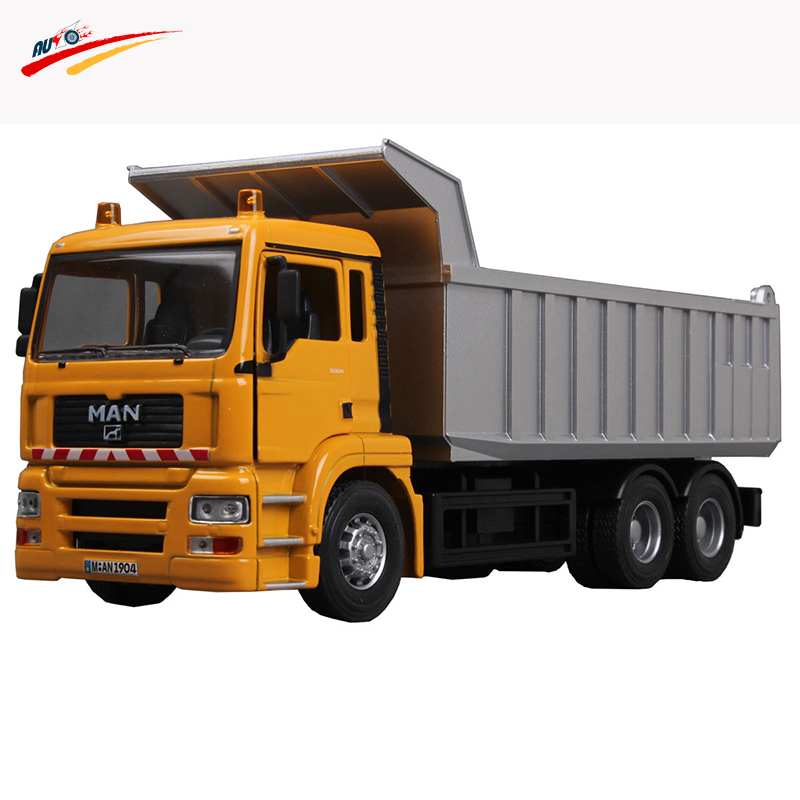 1:32 for Alloy Diecast Dump Truck Machine Model Engineering Vehicles Collection Toy Gift for Kids Children(China (Mainland))