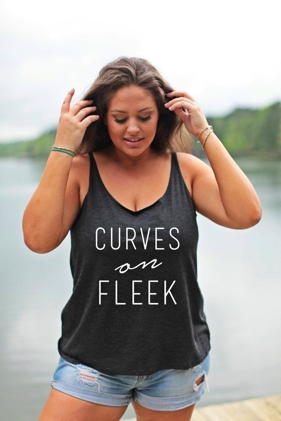 5XL Plus Size Women Tank Tops 2016 New Fashion Summer CURUVES on Fleek Letter Printed Sleeveless Crop Tops Casual Cotton Blouses sleeveless