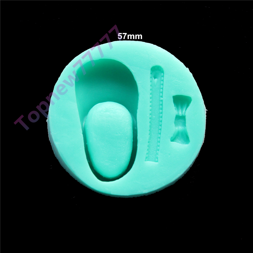Shoe shape Muffin Sweet Candy Jelly fondant Cake chocolate Mold 3D Silicone mold Baking Pan decorating tools bakeware 2399 - Doinb Ali Store store