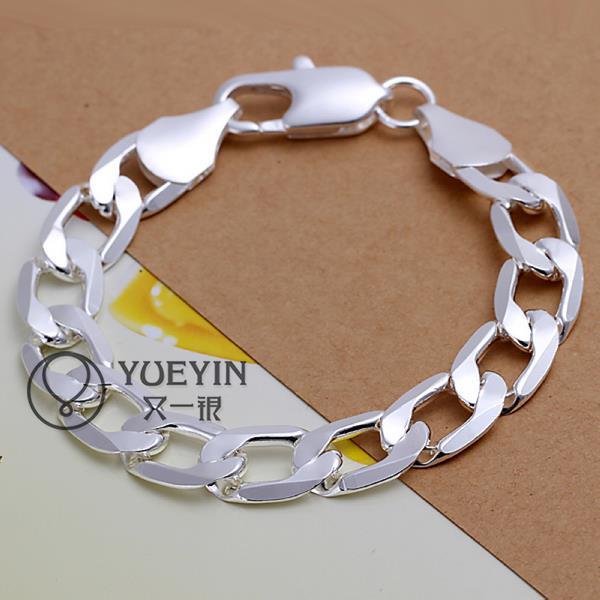 H222 2015 Fashion Women Classy Design Jewelry Silver Plated Bracelet Filled Shine Wedding Dress Trendy Jewelry(China (Mainland))