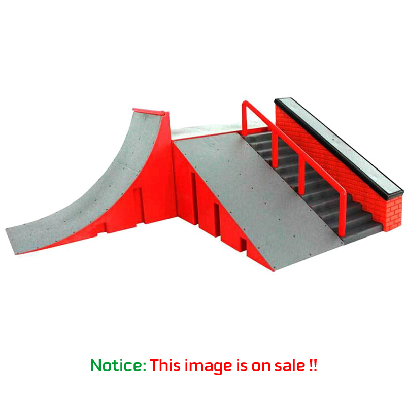 New Skill Deck Skate Park Ramp Parts Play Prop for Cool Fingerboard Finger Board with Multi Scene Come with Fingerboard<br><br>Aliexpress