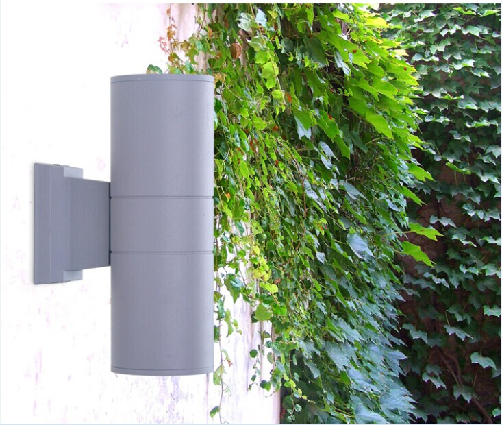 Фотография 110*300mm up and down 24W led outdoor wall light 2*12W Yard Street IP65 Waterproof courtyard garden Corridor led wall lamp