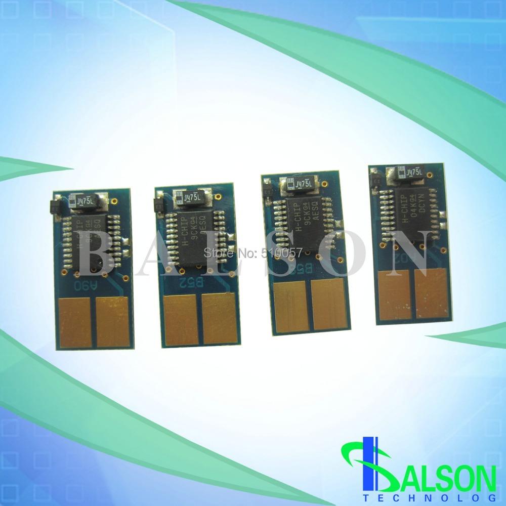 New arrival color laser printer cartridge chips reset toner chip for Lexmarks C736 X736 X738