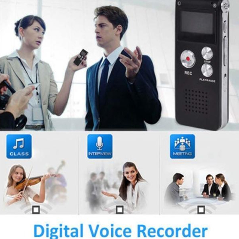 Portable USB Digital Voice Recorder 8G VOR Function Audio Dictaphone Gravador MP3 Player Privat Records Pen Recorder Espiao DVR(China (Mainland))
