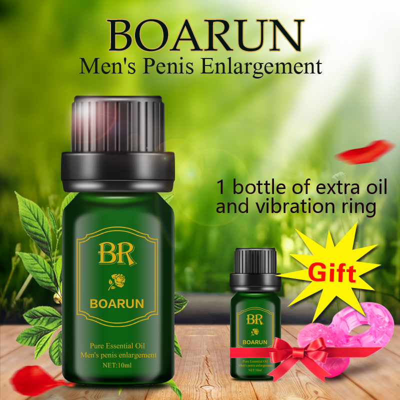 BOARUN Male permanent Penis Extender Enlarger increase herbal Enlargement Essential Oil growth Extension Cream Sex Products Men(China (Mainland))