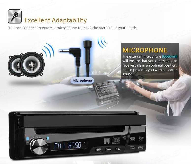 Single 1 DIN Car DVD Player autoradio GPS WIN8 UI Touch Stereo WiFi 3G Radio automotive