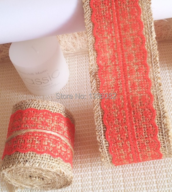 Bride Bouqust decor Jute ribbon wedding flower Jute twine/ party decoration burlap roll ribbon ,2meters/roll,one color one roll(China (Mainland))