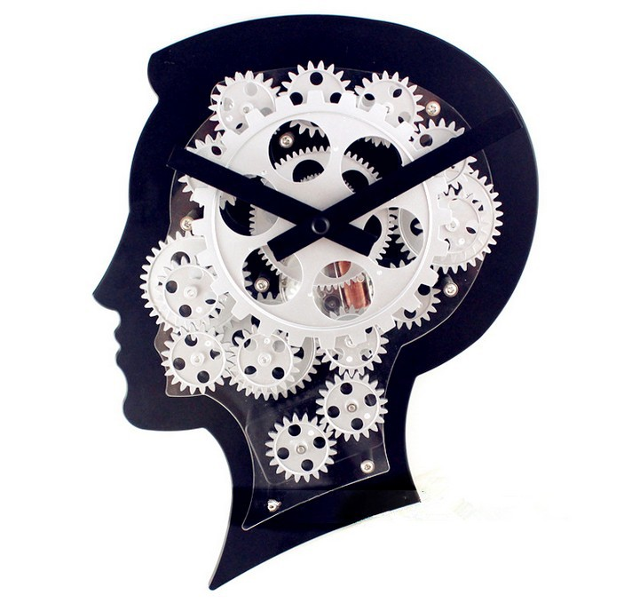 Fashion Creative Wall Clock Gears clock Dutch designer design alternative style Novelty Decorative(China (Mainland))