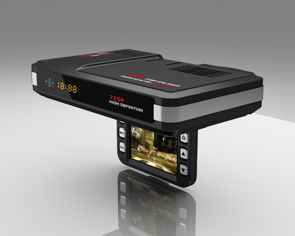car DVR Camera recorder  2in1 car Anti  Speed Radar Detector G-sensor HD FREESHIPPING Russian or English<br><br>Aliexpress