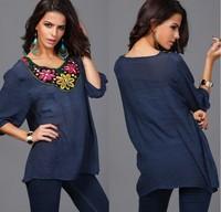 Женские блузки и Рубашки Blusas Femininos