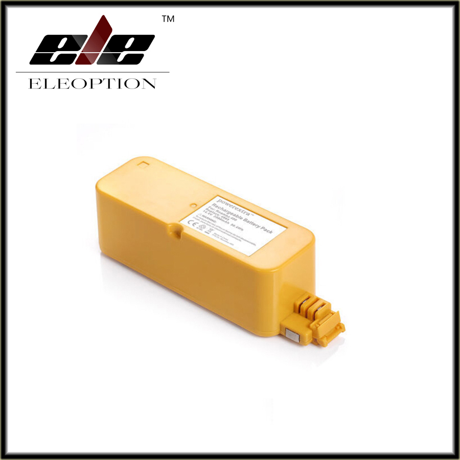 Eleoption Hot 3500mAh 3.5Ah NI-MH Vacuum Battery For iRobot Roomba 400 / 4000 / Create/ APC / Discovery / Dirt Dog Battery(China (Mainland))