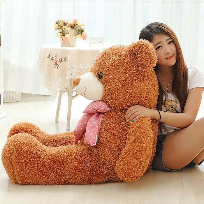 60CM Six Colors Big Teddy Bear Plush Soft Toys Giant Stuffed Toy Baby Toy Birthday Gifts Christmas Children Girl Kid Baby Gifts(China (Mainland))