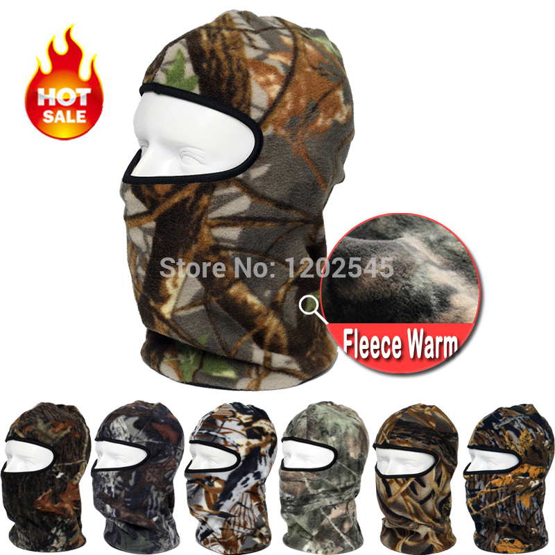 Warm Camo Thermal Fleece Balaclava Winter Cycling Ski Neck Masks Hoods Cover Hats Bicycle Motorcycle Tactical Full Face - Professional Factory Store store