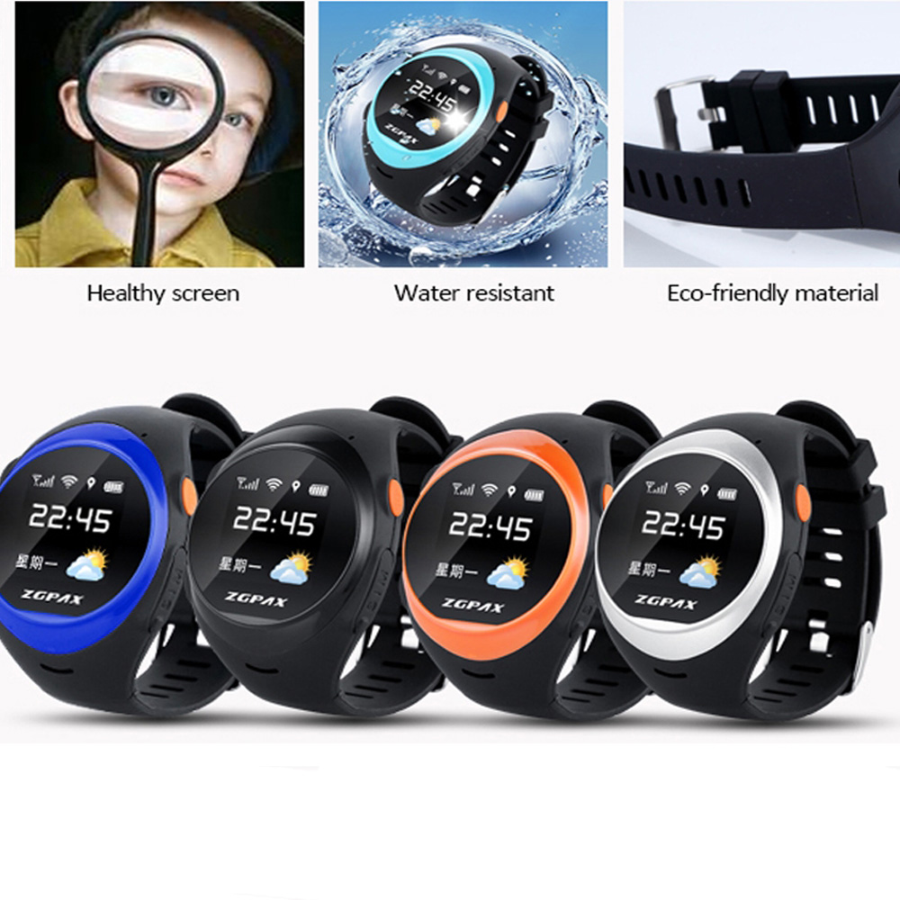 Older Person & Children Anti-lost GPS Tracking Bluetooth LBS WiFi Anti-falling Alarm GSM SIM Smart Watch Phone(China (Mainland))