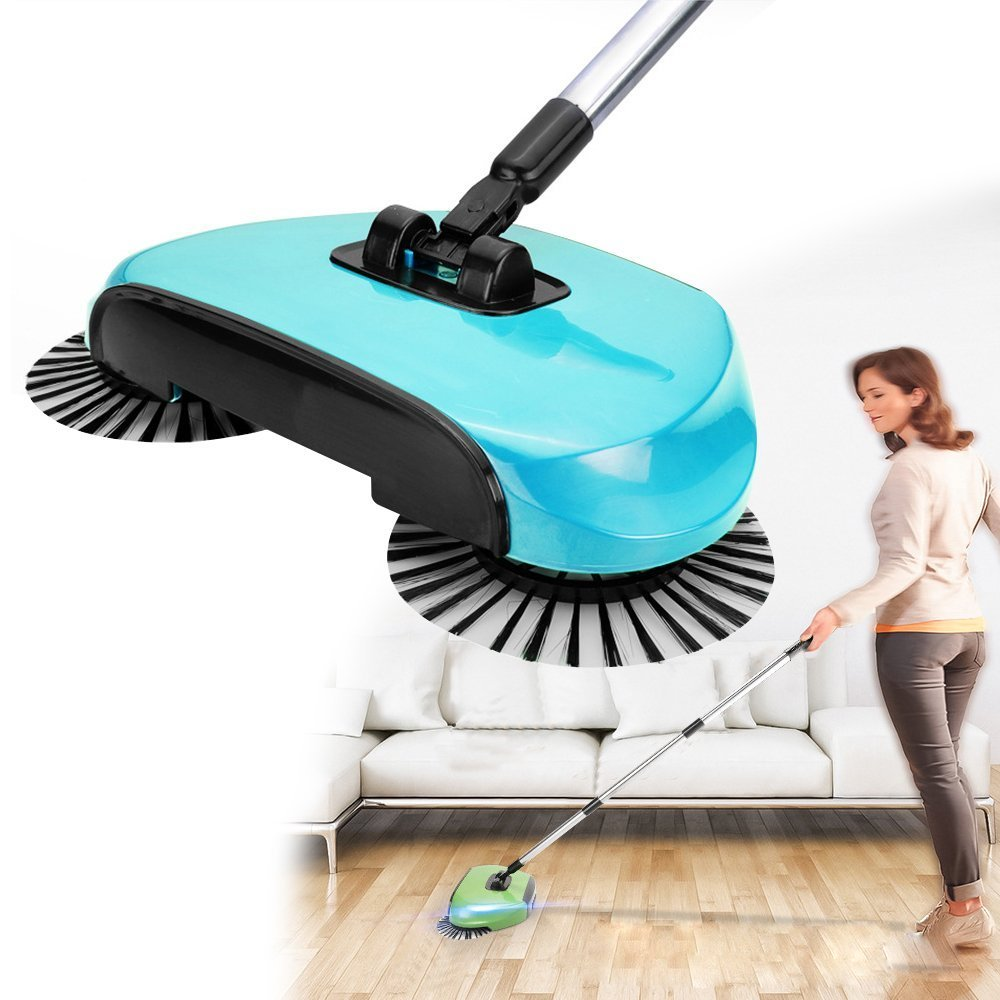 Broom Cleaner Robot Household Cleaning Hand Push Sweeper Broom machine Broom Floor Cleaner Dustpan Combination Package(China (Mainland))